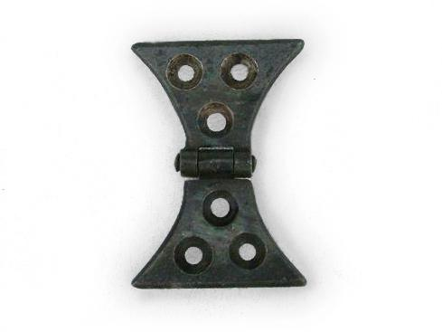 Hand Forged Butterfly Hinge 1 Traditional Hand Forged