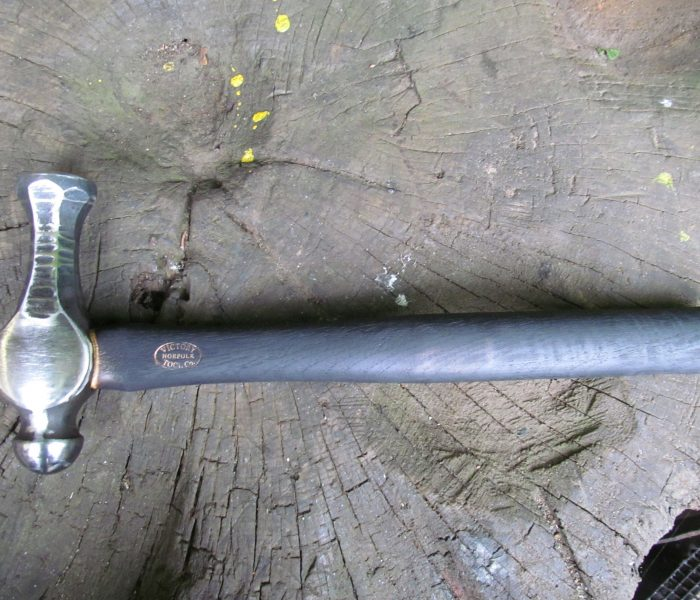 Blacksmith Forge Tools Long nosed flat faced hammer