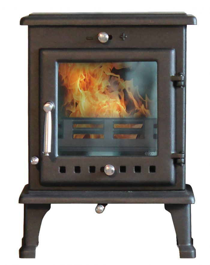crystal 5 small stove fire burner with flue