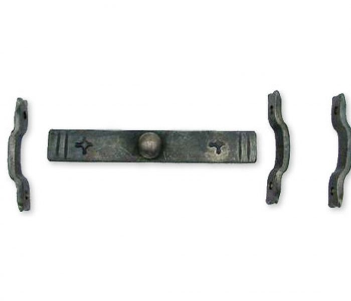 hand forged door slide bolt
